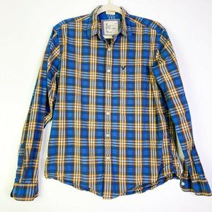 Abercrombie & Fitch Button Up Collared Shirt Sz M